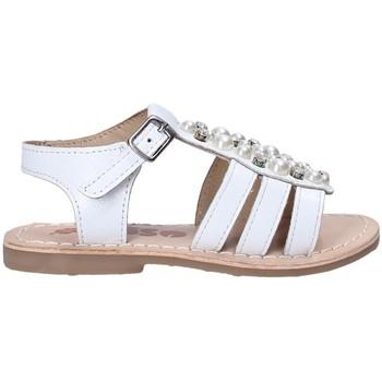 Pantofi Fete Sandale  Asso 65954 Alb