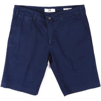 Îmbracaminte Bărbați Pantaloni scurti și Bermuda Sei3sei PZV132 8137 Albastru