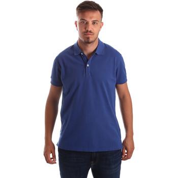 Îmbracaminte Bărbați Tricou Polo mânecă scurtă Navigare NV82086 Albastru