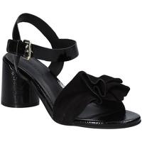 Pantofi Femei Sandale  Elvio Zanon EJ5605P.L Negru