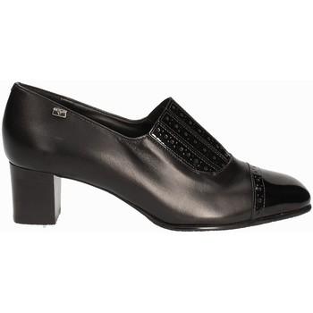 Pantofi Femei Mocasini Valleverde V12024 Negru