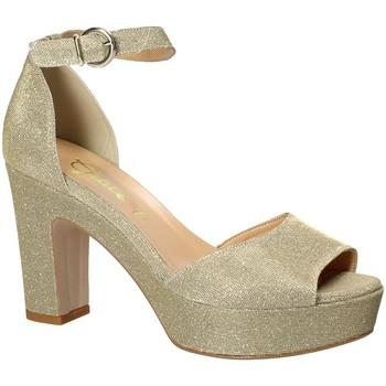 Pantofi Femei Sandale  Grace Shoes 1705 Galben