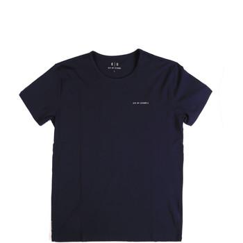 Îmbracaminte Bărbați Tricouri mânecă scurtă Key Up 2G69S 0001 Albastru