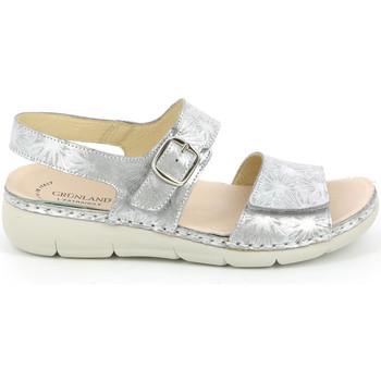 Pantofi Femei Sandale  Grunland SE0459 Argint