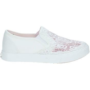 Pantofi Copii Pantofi Slip on Miss Sixty S19-SMS321 Alb
