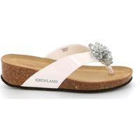 Pantofi Femei  Flip-Flops Grunland CB2482 Alb