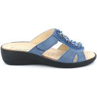 Pantofi Femei Papuci de vară Grunland CE0710 Albastru