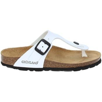 Pantofi Copii  Flip-Flops Grunland CB0926 Alb