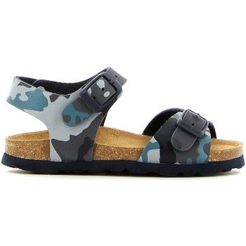 Pantofi Fete Sandale  Grunland SB0169 Albastru