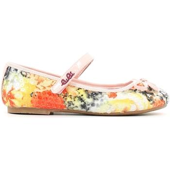 Pantofi Fete Balerin și Balerini cu curea Lulu LB110002T Portocale