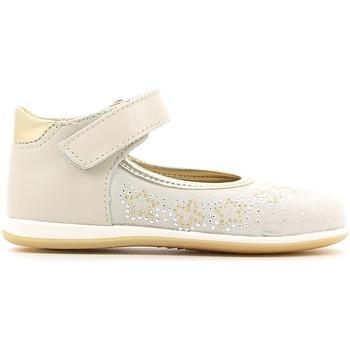 Pantofi Fete Balerin și Balerini cu curea Crazy MK0168A6E.T Bej