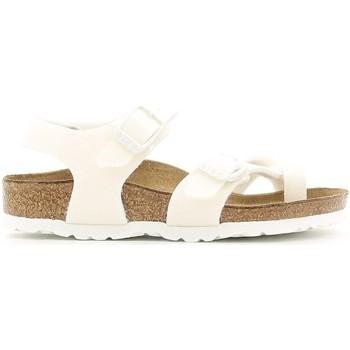 Pantofi Fete Sandale  Birkenstock 371593 Alb