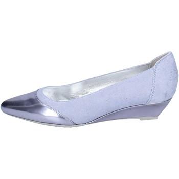 Pantofi Femei Balerin și Balerini cu curea Hogan BK686 Albastru