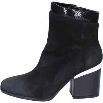 Pantofi Femei Botine Hogan Botine BK687 Negru