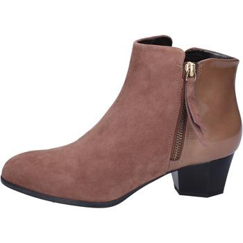Pantofi Femei Botine Hogan BK688 Maro