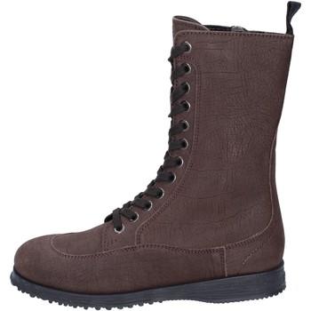 Pantofi Femei Botine Hogan BK691 Maro