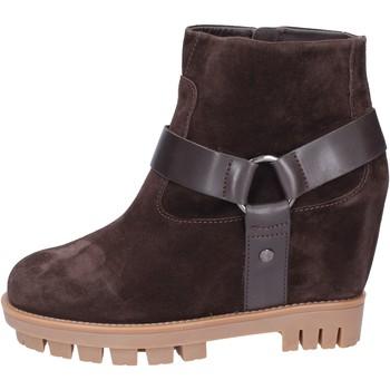 Pantofi Femei Botine Hogan Botine BK694 Maro