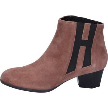 Pantofi Femei Botine Hogan BK699 Maro