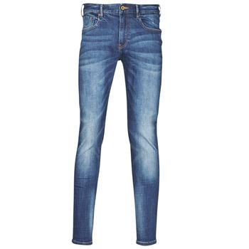 Îmbracaminte Bărbați Jeans slim Scotch & Soda KIMONO Albastru / Culoare închisă