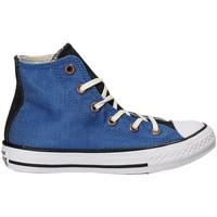 Pantofi Copii Pantofi sport stil gheata Converse 659965C Albastru