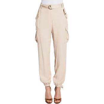 Îmbracaminte Femei Pantaloni Cargo Gaudi 011FD25018 Bej