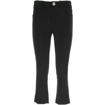 Îmbracaminte Femei Pantaloni trei sferturi Nero Giardini P960610D Negru