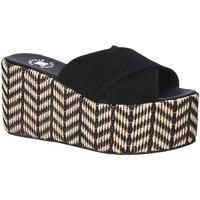 Pantofi Femei Papuci de vară Exé Shoes G41007057004 Negru