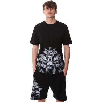 Îmbracaminte Bărbați Tricouri mânecă scurtă Sprayground 20SP012 Negru
