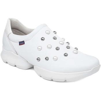 Pantofi Femei Pantofi Slip on CallagHan 18701 Alb