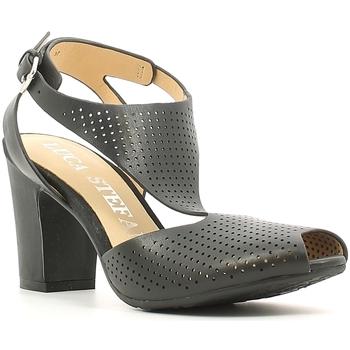 Pantofi Femei Sandale  Luca Stefani 230104 Negru