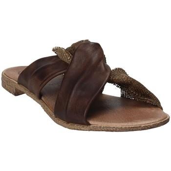 Pantofi Femei Papuci de vară 18+ 6113 Maro