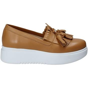 Pantofi Femei Pantofi Slip on Exton E01 Maro
