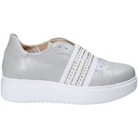 Pantofi Femei Pantofi Slip on Exton E05 Gri