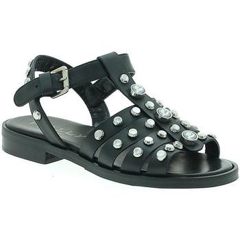 Pantofi Femei Sandale  Mally 6134 Negru