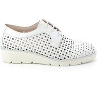Pantofi Femei Pantofi Derby Grunland SC4494 Alb