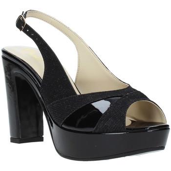 Pantofi Femei Sandale  Grace Shoes JN 093 Negru