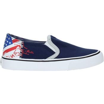 Pantofi Copii Pantofi Slip on Fred Mello S19-SFK101 Albastru