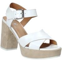 Pantofi Femei Sandale  Janet Sport 43883 Alb