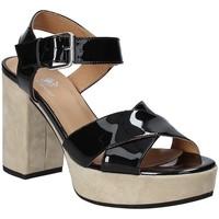 Pantofi Femei Sandale  Janet Sport 43883 Negru
