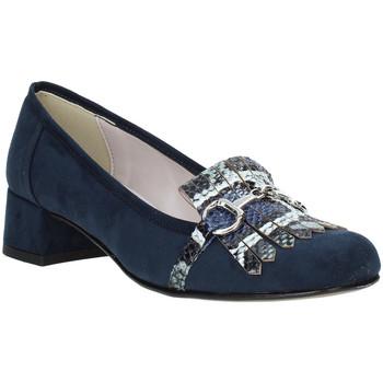 Pantofi Femei Mocasini Grace Shoes 171002 Albastru