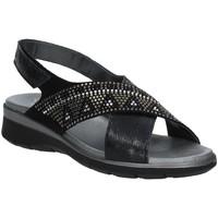 Pantofi Femei Sandale  Soffice Sogno E9490 Negru
