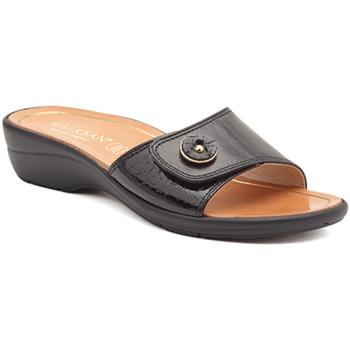Pantofi Femei Papuci de vară Susimoda 1651-01 Negru