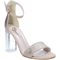 Pantofi Femei Sandale  Grace Shoes 018TR003 Bej