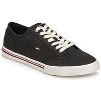Pantofi Bărbați Pantofi sport Casual Tommy Hilfiger CORE CORPORATE TEXTILE SNEAKER Negru