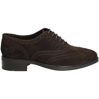 Pantofi Femei Pantofi Derby Marco Ferretti 140424 Maro