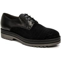 Pantofi Femei Pantofi Derby NeroGiardini A806560D Negru