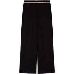 Îmbracaminte Femei Pantaloni fluizi și Pantaloni harem Nero Giardini E060060D Negru