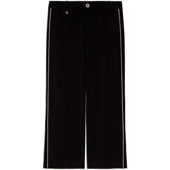 Îmbracaminte Femei Pantaloni fluizi și Pantaloni harem Nero Giardini E060140D Negru