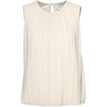 Îmbracaminte Femei Topuri și Bluze Calvin Klein Jeans K20K201947 Bej