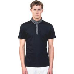 Îmbracaminte Bărbați Tricou Polo mânecă scurtă Antony Morato MMKS01489 FA100084 Albastru